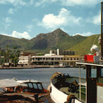 Port Louis – The Harbour viewed from the Docks – 1970s