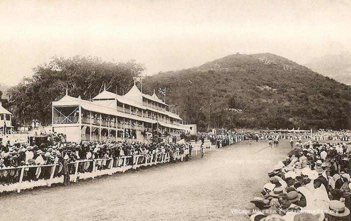 Port Louis - Horse Racing Day - Champ de Mars - 1910s