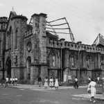 Port Louis – The Immaculate Conception Church after Cyclone Jenny – 1962