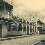 Port Louis – Jummah Mosque Street and the Mosque – early 1900s