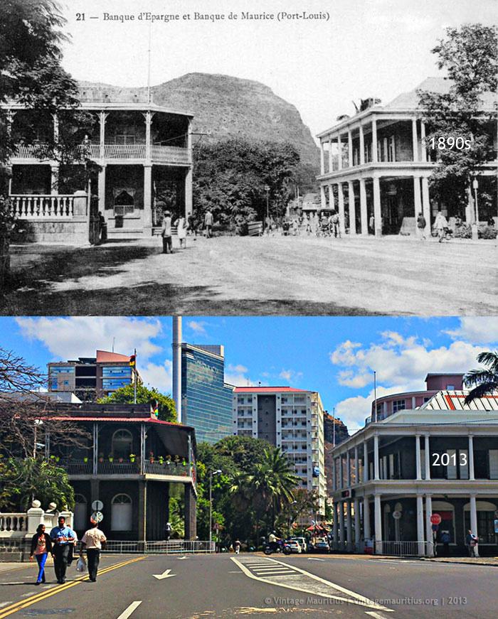 Port Louis - Place D'Armes - 1890s/2013