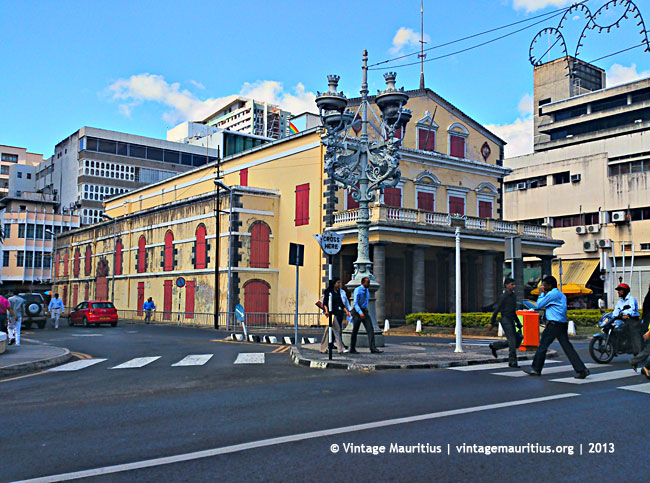 Port Louis - Municipal Theatre - Remy Ollier Street - 2013