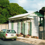 Port Louis - Old Creole Colonial House - Mere Barthelemy Street