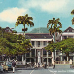 Port Louis – Place D'Armes and the Government House – 1976