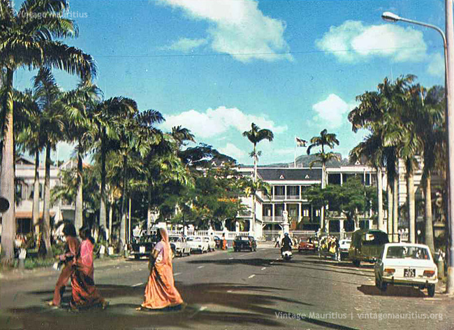 Port Louis - Place D'Armes - 1978