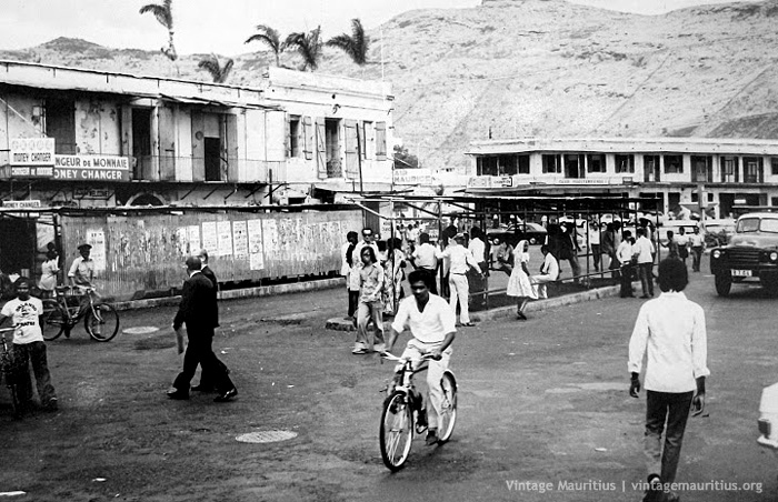 Port Louis Place Darmes Bus Stand 1978