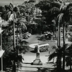Port Louis – Place D'Armes viewed from the Government House – 1960s