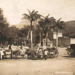 Port Louis – Place D'Armes and Labourdonnais Square – Carioles ready for work – 1900s