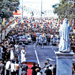 Port Louis – Place D'Armes – Queen Elizabeth II Visit to Mauritius – Mar 1972