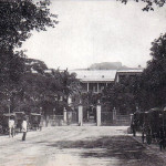 Port Louis – Place D'Armes and the Government House – early 1900s