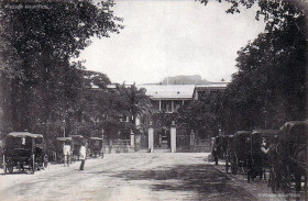 Port Louis - Place D'Armes Taxi Stand - early 1900s