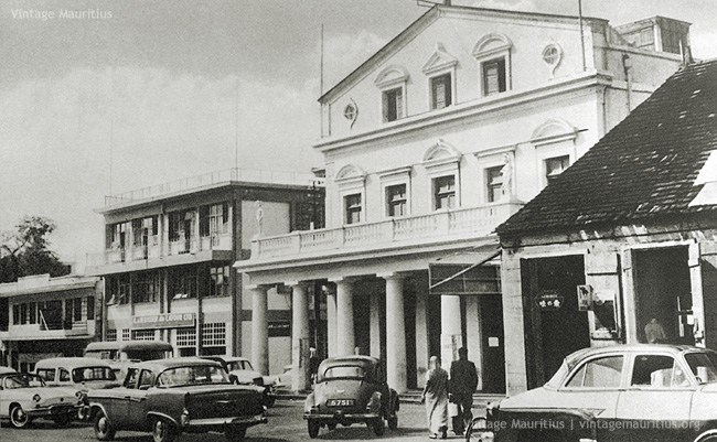 Port Louis - Jules Koenig Street - The Municipal Theatre - 1960s