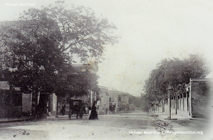 Port Louis - Pope Hennessy Street - 1907