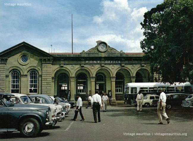 Port Louis Post Office Mauritius 1960s
