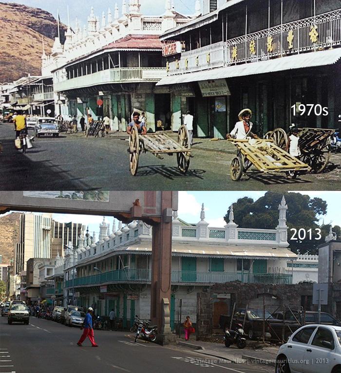 Port Louis - Royal Road - 1970s/2013