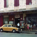 Port Louis – Royal Street and Triangle Rouge Shop – 1970s