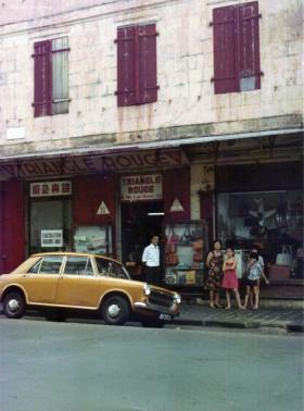 Port Louis Royal Road Triangle Rouge Shop 1970s