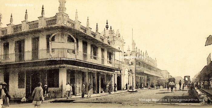 Port Louis - Royal Street - Jummah Mosque - 1900s