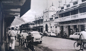 Port Louis - Royal Street - Jummah Mosque - 1960s