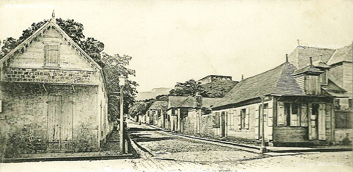 Port Louis - Rue Arsenal - Inkerman Street - Citadel - early 1900s