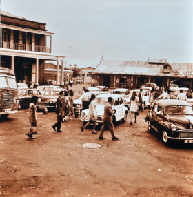Port Louis Taxi Place 1970 Bus-Stand