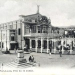 Port Louis – The Theatre – 1910