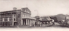 Port Louis Theatre - Pope Henessy Street - Port Louis - 1905
