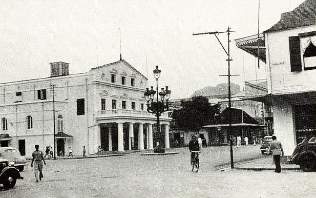 Port Louis Theatre Pope Henessy Street