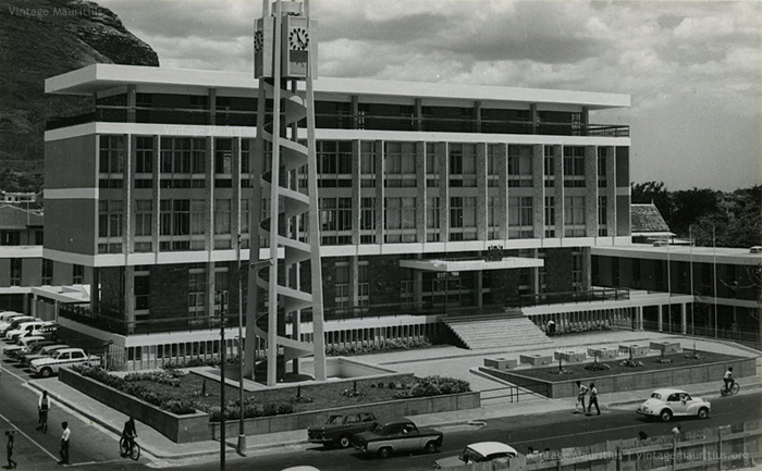 Port Louis - Town Hall - late 1960s