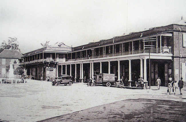 Port Louis Victoria Station 1930s - Lorries Embarking