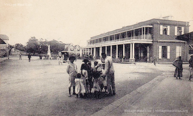 Port Louis - Victoria Train Station - 1910s