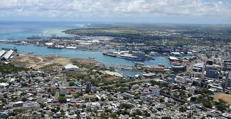 Port Louis Viewed from Signal Mountain - 2014