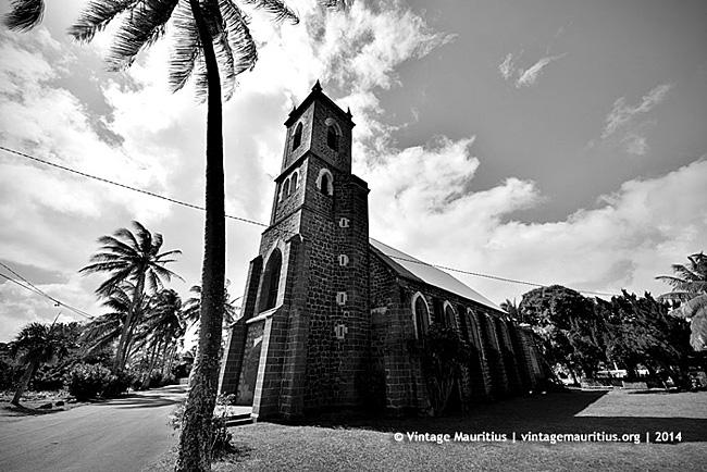 Poudre D'Or - Saint Philomene Old Stone Church - Mauritius - 1854