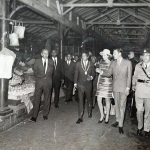Port Louis – Princess Alexandra visits Mauritius – 1972
