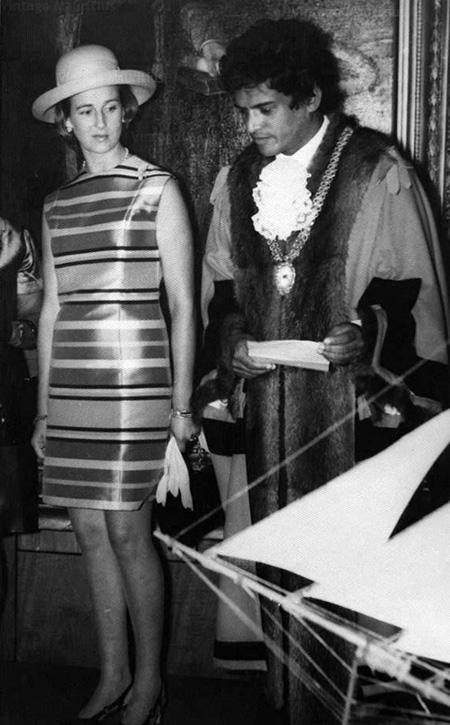Princess Alexandra and Sir Gaetan Duval 1972