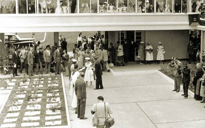 Candos - Victoria Hospital - Inauguration of the Orthopaedic Centre - Princess Margaret - 1956