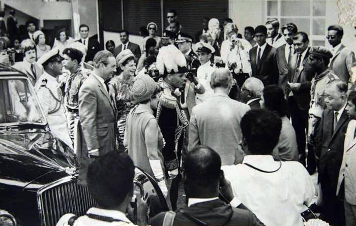 Princess Margaret Visit Mauritius Sep 1956
