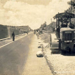 Quatre Bornes – Construction of St Jean Road – 1971