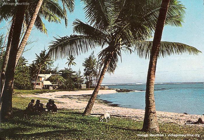 Riambel Beach Mauritius 1984
