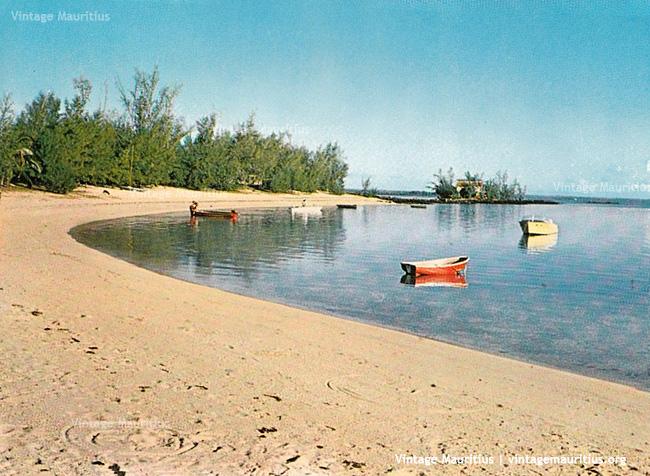 Roches Noires Beach 1970s