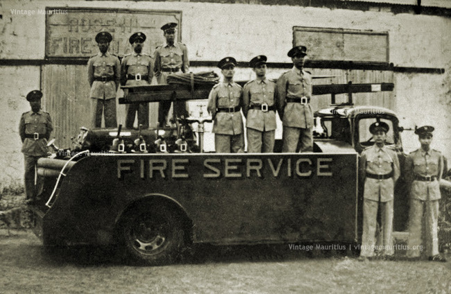 Rose Hill - Old Fire Services Station - Old Lorry - 1950s