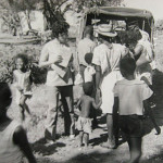 SMF Wife Club – Distribution of Toys to Children – early 1970s