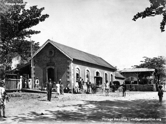 The Souillac Train Station in the late 1890s
