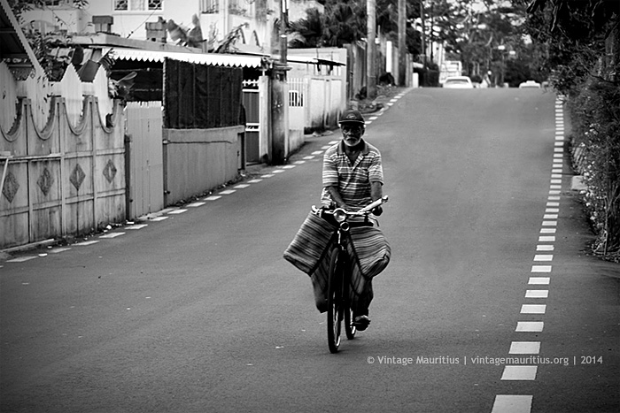 The Traditional Mobile Newspaper Seller - Mauritius