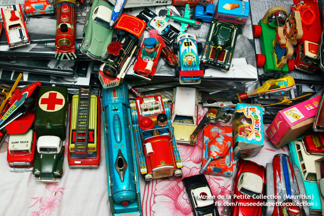 Tin Toys - Old Mauritius Gifts for Children