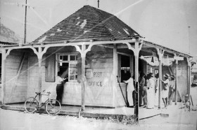 Vacoas - Old Post Office - Train Station - 1940s