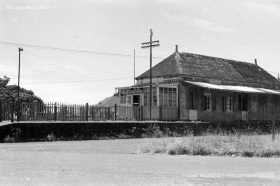 Vacoas - The Old Post Office & Train Station - 1968