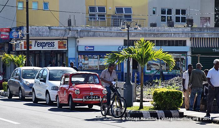 Vacoas Town Centre - Cafe Metro - 2014 - Old Fiat