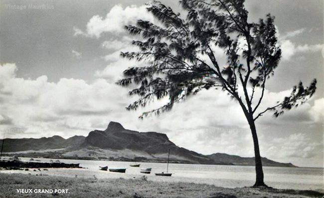 Vieux Grand Port Mauritius 1960s