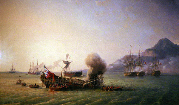 Battle of Grand Port - Mauritius - 1810